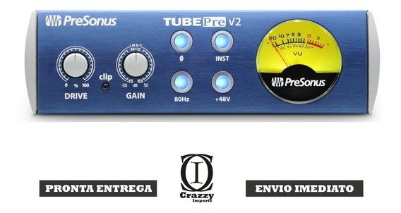 Presonus Tube Pre V2 Pré-amplificador Valvulado + Brindes