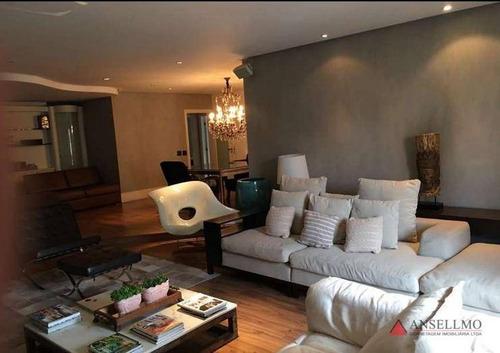 Apartamento Com 4 Dormitórios À Venda, 254 M² Por R$ 1.390.000,00 - Santa Paula - São Caetano Do Sul/sp - Ap1487
