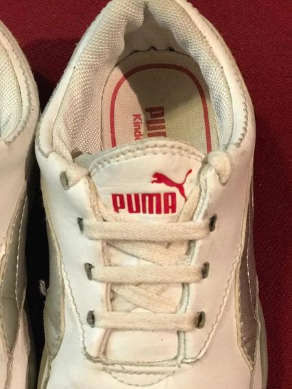 Zapatillas Puma Cuero Niños