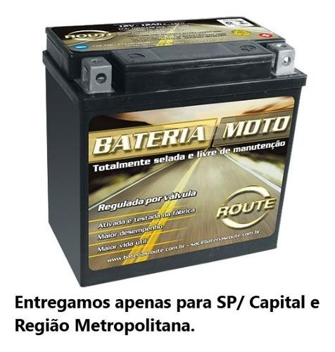 Bateria De Moto 12ah - Comer 650 - Mirage 650 - Ytx14 Bs