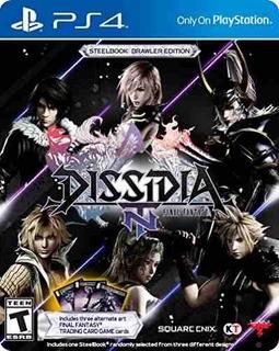 Dissidia Final Fantasy Nt Steelbook Brawler Edition - Playst