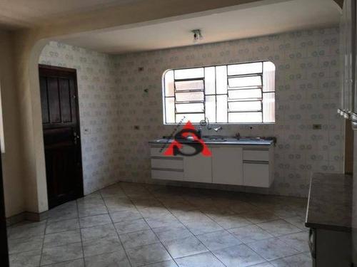 Casa Com 3 Dormitórios À Venda, 121 M² Por R$ 520.000,00 - Vila Santo Estéfano - São Paulo/sp - Ca2548