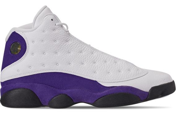 Tenis Jordan 13 Retro Lakers Importación Mariscal