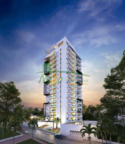 Apartamento Tipo Torre De Oportunidad Santiago (eaa-327 B1)
