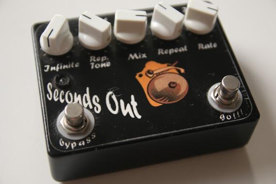 Pedal Guitarra Seconds Out Delay Vie Pedals Boutique Espanha