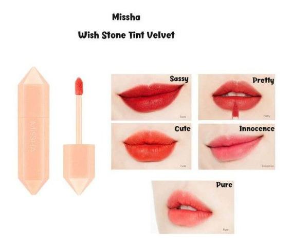 Missha Velvet Stone Tint - Tinte Larga Duración