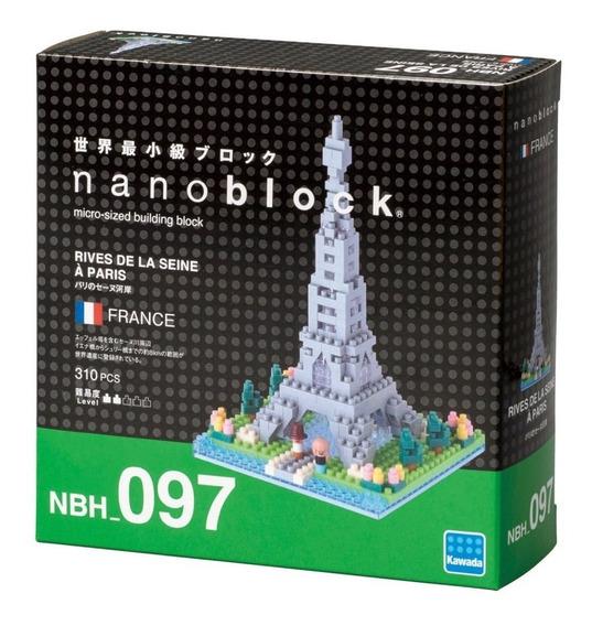 Nanoblock Torre Paris Juego Architecture Rompecabezas Regalo