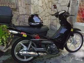 Moto Dafra Zig 50 Com Capacete Novinha Em Bangu Prox Ao Shop