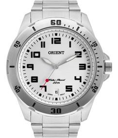 Relógio Orient Masculino Prata Original Nfe Mbss1155a S2sx