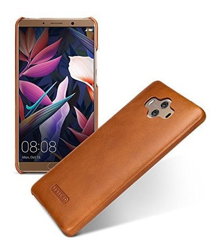 Tetded - Funda De Piel Para Huawei Mate 10 Alp-al00 Alp-l09