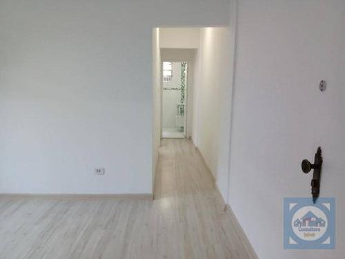 Apartamento Com 2 Dormitórios À Venda, 95 M² Por R$ 371.000,00 - Campo Grande - Santos/sp - Ap5928