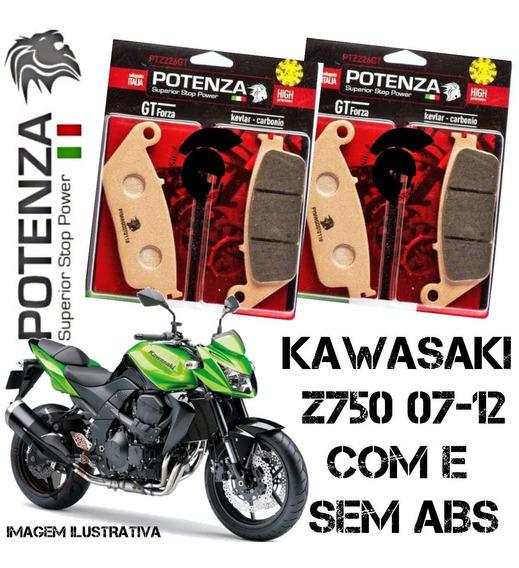 Pastilhas Freio Dianteira Potenza Kawasaki Z 750 07-12 226
