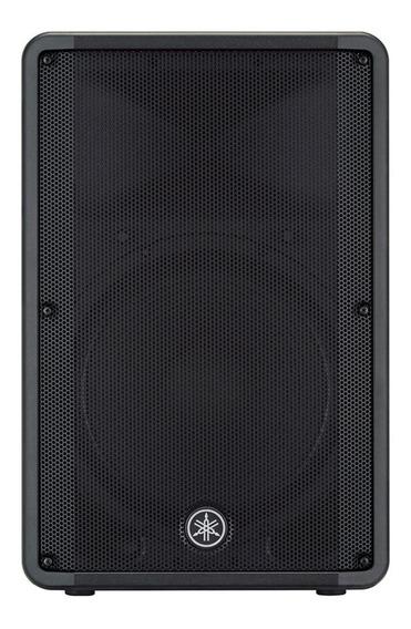 Caixa Acústica Ativa 15 465w Dbr-15 Preta Yamaha