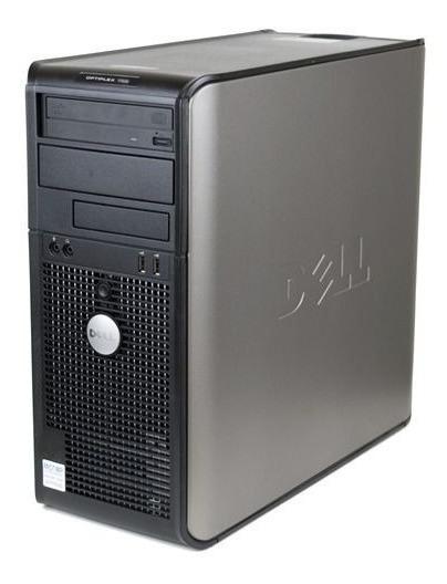 Cpu Dell Optiplex 755 Core 2 Duo 2gb Hd160 Com Garantia (usado) A Pronta Entrega