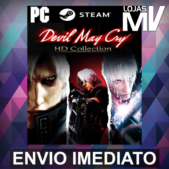 Devil May Cry Hd Collection - Pc Steam Gift Presente