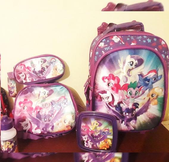 Mochila Escolar My Little Pony (incluye Lonchera/cartuchera)