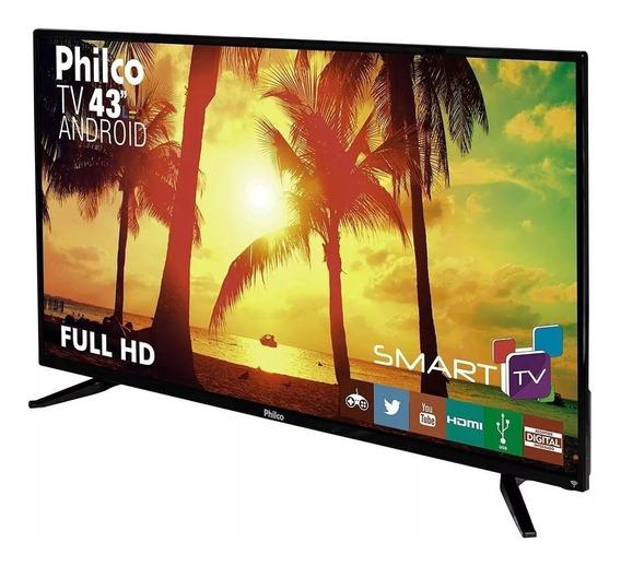 Smart Tv Led 43 Philco Full Hd Conversor Dnr