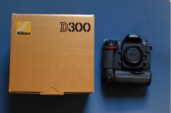 Câmera Nikon D300 Profissional Na Caixa!