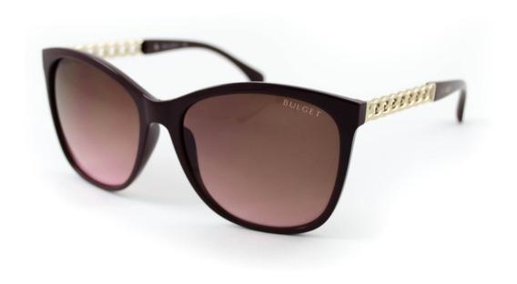 Óculos De Sol Bulget - Bg5120 D01 - Vermelho