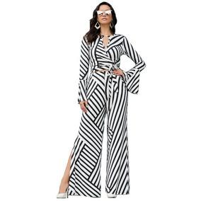 Conjunto Blusa E Calça Pantalona Com Fenda Plus Size Até 56