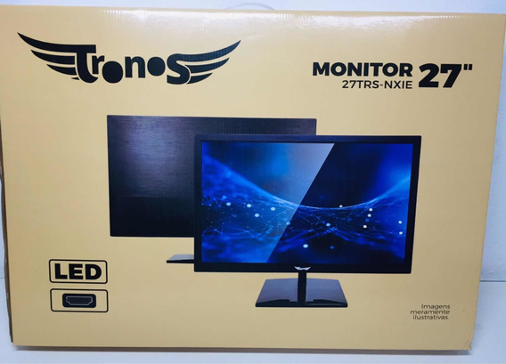Monitor Led 27 Tronos 27trs-nxie Full Hd Preto
