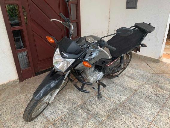 Cg 125 Fan Moto Com Apenas 9100km Rodados.