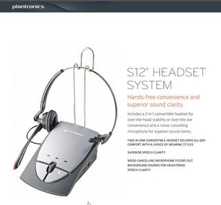 Plantronics Amplificador S12 | Auricular Para Teléfonos