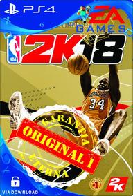 Nba 2k18 Legend Edition Gold Ps4 Psn Digital Code 1 Env. Já