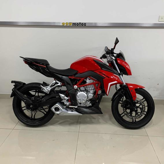 Zanella Rz3 Rz 3 300 Cc Moto Calle Nacked Usada 2016