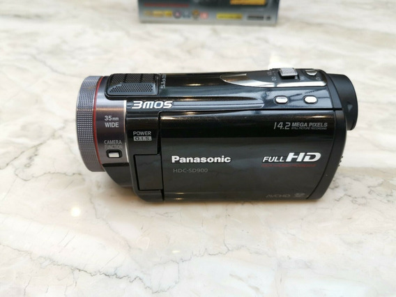Filmadora Panasonic Hdc-sd900 Full Hd 1920 X 1080p