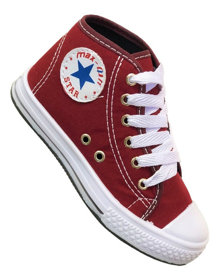 Tênis Botinha All Star Converse Juvenil Infantil ! Promoção!
