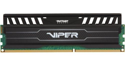 Memoria Gamer Patriot Viper Ddr3 8gb 1600mhz Disipador Oc