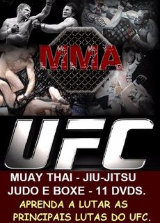 Curso De Jiu-jitsu Muay Thai Boxe E Judo Aulas Em 11 Dvds D0