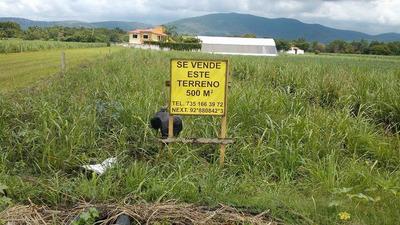 Terreno En Centro De Yautepec Muy Bien Ubicado