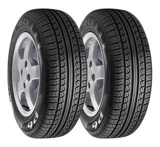 Paquete De 2 Llantas 185/60 R14 Pirelli P6 82h