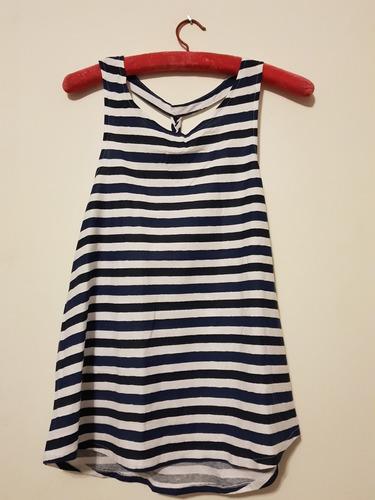 Musculosa Azul Zara. T 5 Y 13/14 (s Adultos) Nuevo