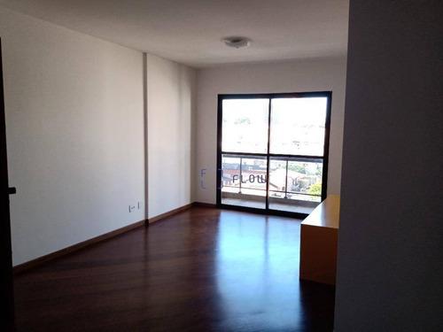 Apartamento Para Alugar, 116 M² Por R$ 4.500,00/mês - Vila Clementino - São Paulo/sp - Ap12166