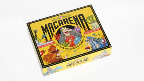 Juego De Mesa - La Macarena Art. 2201 Maldon.!!