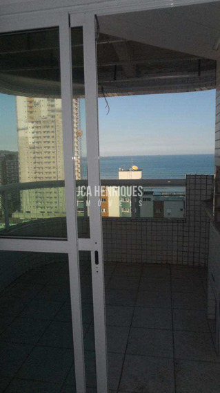 Apartamento 2 Dormitórios Vista Frente Para O Mar. - V364