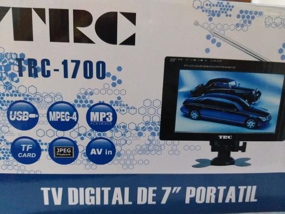 Mini Tv Digital 7 Portátil Lcd