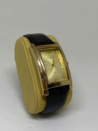 Relógio Fossil F2 Feminino Original Banhado Ouro Es-8808