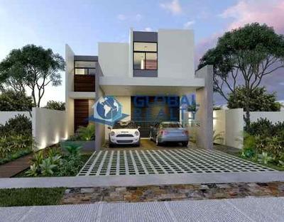 Casa En Venta, Privada En Zona Cholul Cv-4878