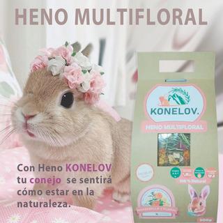 Heno Para Conejo - Floral