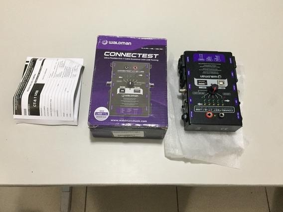 Teste Cabos De Áudio Xlr Trs Rca Pd10 In P2 Speakon Testador