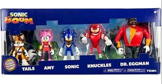 Sonic Boom Set X 5 Figuras Articuladas Tomy