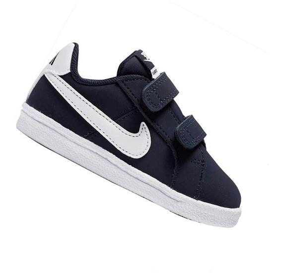 Tênis Nike Infantil Court Royale Marinho Menino 833537400