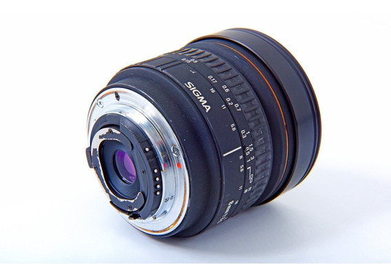 Lente Nikon Sigma 8mm