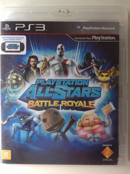 Ps3 Playstatio All Stars Battle Royale-com Cód. Online Pass