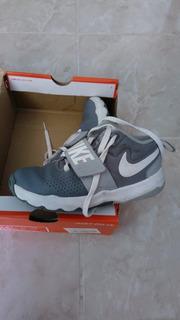 Tenis Nike Blanco Y Gris