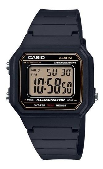 Relógio Casio Masculino Digital W-217h-9avdf + Brinde
